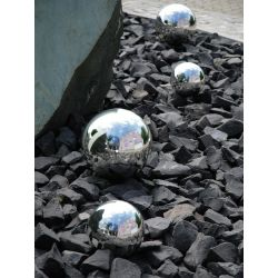 EUROPALMS Decoball 10cm, silver 4x