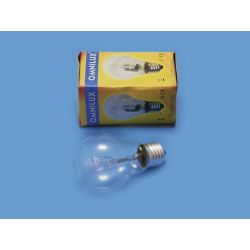 OMNILUX A19 230V/42W E-27 clear halogen