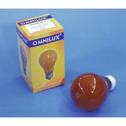 OMNILUX A19 230V/25W E-27 orange
