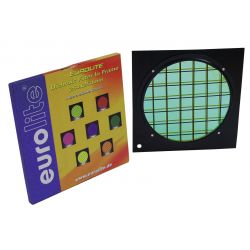 Green dichroic filter black frame PAR-64