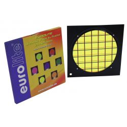Yellow dichroic filter black frame PAR-64