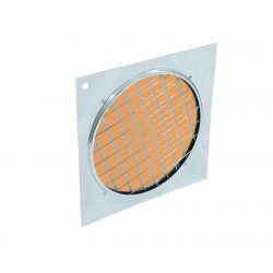 Orange dichroic filter silv. frame PAR-64