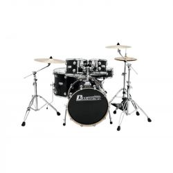 DIMAVERY DS-610 Drum Set, Black Sparkle