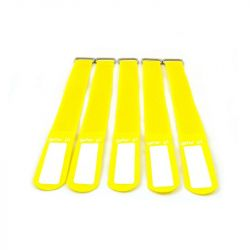 GAFER.PL Tie Straps 25x400mm 5 pieces yellow