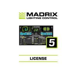 MADRIX Software 5 License entry
