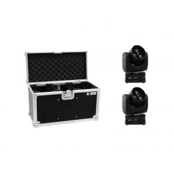 EUROLITE Set 2x LED TMH-14 Moving-Head Zoom Wash + Case