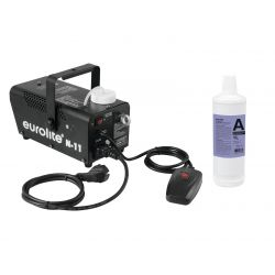 EUROLITE Set N-11 LED Hybrid blue fog machine + A2D Action smoke
