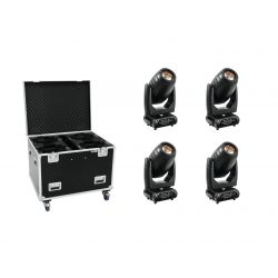 FUTURELIGHT Set 4x PLB-280 + Case
