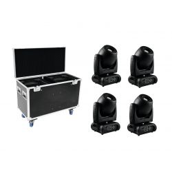 FUTURELIGHT Set 4x DMH-160 LED Moving-Head + Case