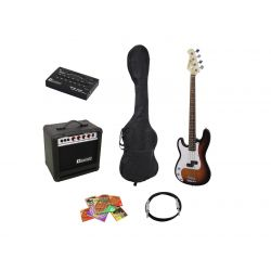 DIMAVERY BGS-10 E-Bass-Set...