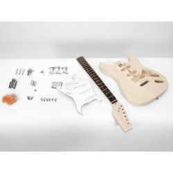 DIMAVERY DIY ST-20 Guitar construction kit