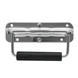 Surface mounted handle sprung zinc
