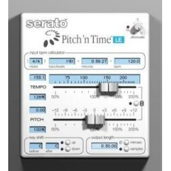 SERATO Oprogramowanie Pitch 'n Time Pro (for Logic) box