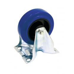 Fixed castor blue wheelsize:100mm