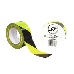 Stagetape Marking tape PVC yellow/bl.