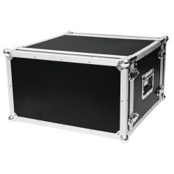 Case Effect-rack CO DD, D:25cm, 6HE, black