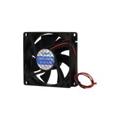 EUROLITE BF-12 Axial fan 12V 80x80x25mm 45mÂł/h