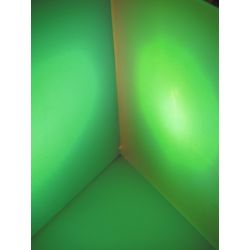 EUROLITE Dichro, light green, frost, 165x132mm