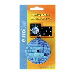 EUROLITE Mirror ball 5cm blue