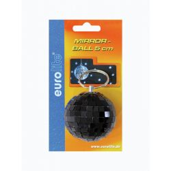 Mirror ball 5cm black
