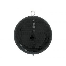 Mirror ball 20cm black