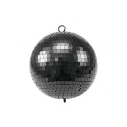 EUROLITE Mirror Ball 20cm black matt