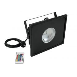 EUROLITE LED IP FL-30 COB RGB 60° RC