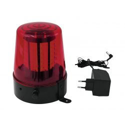 EUROLITE LED Police Light 108 LEDs red Classic