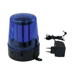 EUROLITE LED Police Light 108 LEDs blue Classic