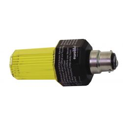 EUROLITE Strobe with B-22 base, yellow