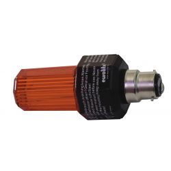 EUROLITE Strobe with B-22 base, orange