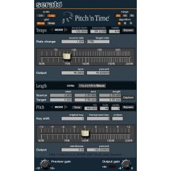 SERATO Oprogramowanie Pitch 'n Time Pro (for Pro-Tools) Download