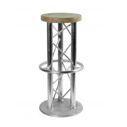 ALUTRUSS bar-stool, 3 feet...