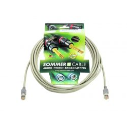 SOMMER CABLE CAT-5 cable FTP 6m gy