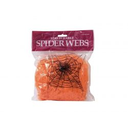 EUROPALMS Halloween spider web orange 50g UV active