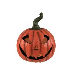 EUROPALMS Halloween Pumpkin illuminated, 24x21x21cm
